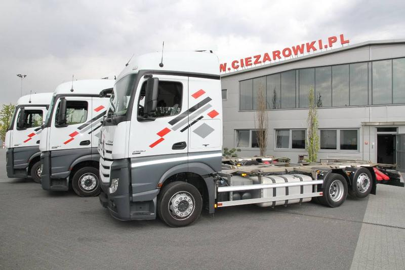 Mercedes-Benz ACTROS 2540 6x2 E6 CHASSIS LOW DECK MEGA