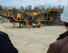 Fabo MOBILE CRUSHING&SCREENING PLANT PRO-90|READY IN STOCK
