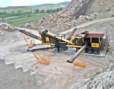 Fabo PRO-120 MOBILE CRUSHING & SCREENING PLANT