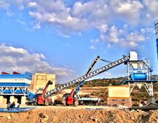 Fabo 160m3/h Fixed Concrete Batching - Free Assemmbly concrete plant