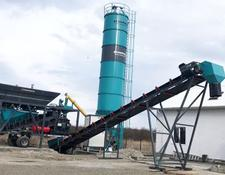 Constmach 2 YEARS WARRANTY, CE CERTIFIED CONCRETE PLANT, 45 m3/h CAPACITY