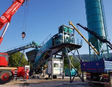 Constmach 100 m3/h MOBILE CONCRETE PLANT, FROM EUROPE'S MOST PREFERRED MAN