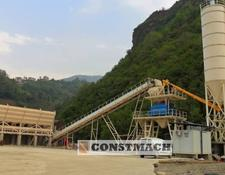 Constmach DELIVERY FROM STOCK! FIXED TYPE CONCRETE BATCHING PLANT 100 m3/h