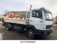 Mercedes-Benz 817  Kipper,Heck kran Atlas AK 60.1