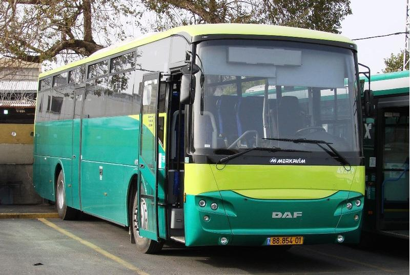 Daf 55 BUSES FOR SALE -MEKAVIM MARS 2006-2008