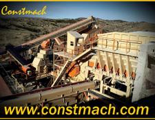 Constmach CRUSHING & SCREENING PLANT WITH VARIOUS CAPACITIES