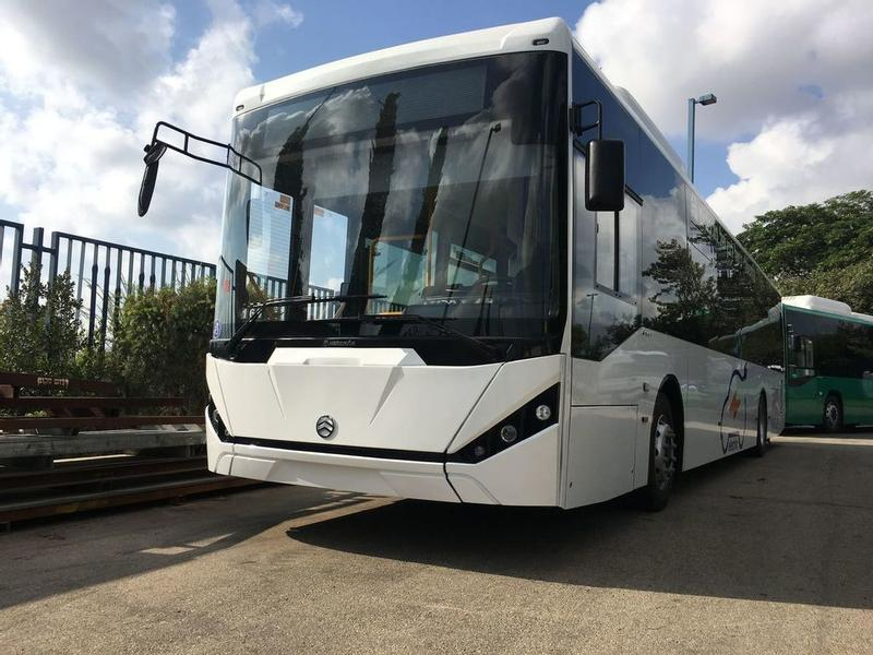 GOLDEN DRAGON 100% ELECTRIC CITY BUSES-EUROPEAN STANDARD !