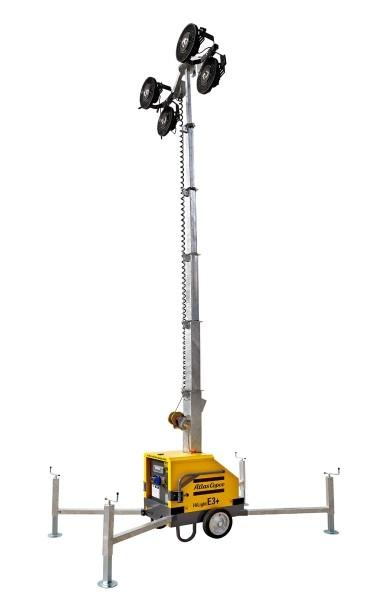 atlascopco Atlas Copco Lichtmast Hochmobil HiLight LED E3+