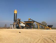 Fabo READY IN STOCK|Mobile Concrete Batching Plant | Turbomix 120 | E