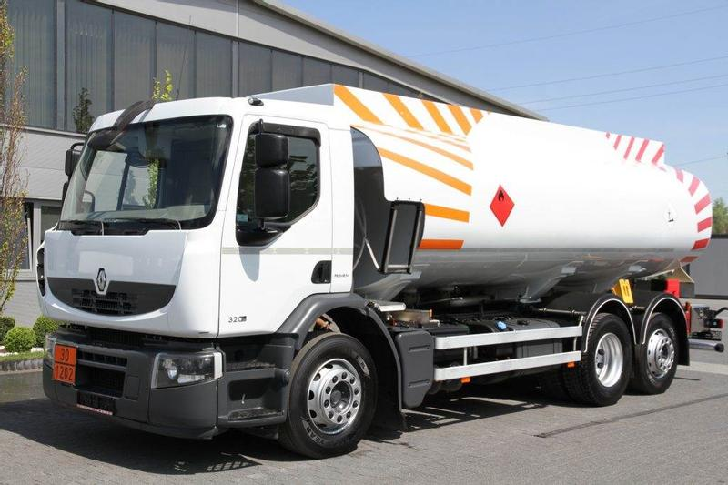 Renault 6×2 PREMIUM 320 DXI CISTERN PASS SYSTEM LOW MILEAG