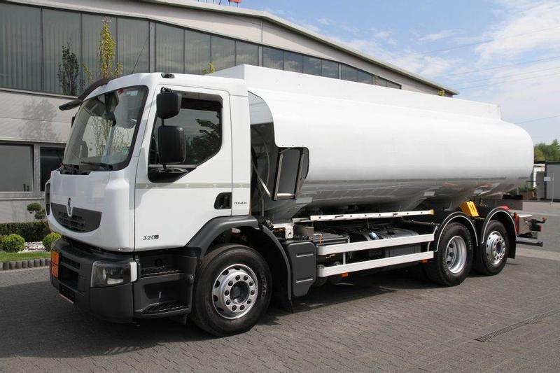 Renault 6x2 PREMIUM 320 DXI CISTERN PASS SYSTEM LOW MILEAG