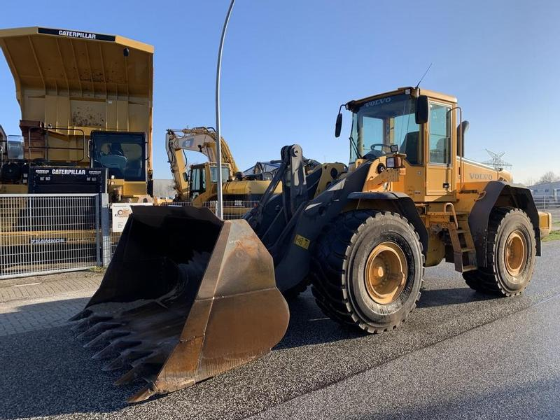 Volvo L120E German machine !!! Matris Rapport