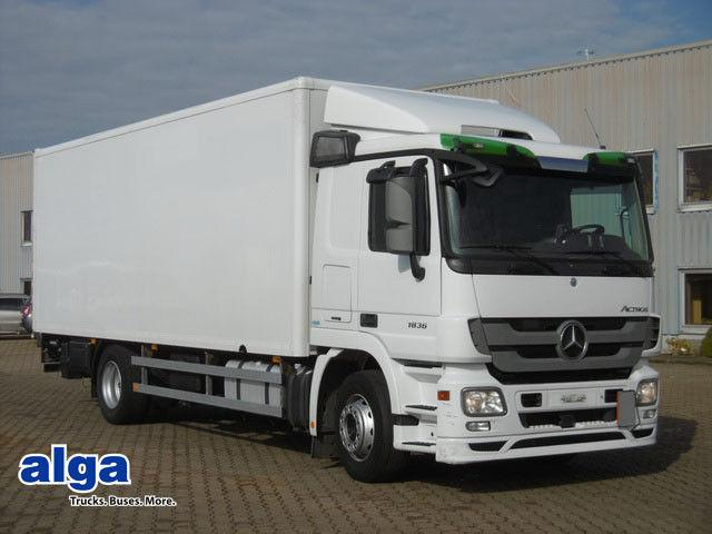 Mercedes-Benz 1836, lang 7300mm, Hebebühne,Klima,Retarder,Top