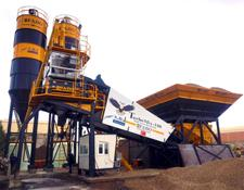 Fabo CE QUALITY NEW GENERATION MOBILE CONCRETE MIXING PLANT