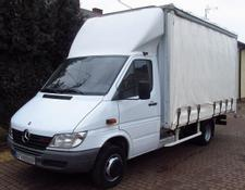 Mercedes-Benz SPRINTER 411CDI CURTAIN SIDE *FRENCH REGISTRATION*