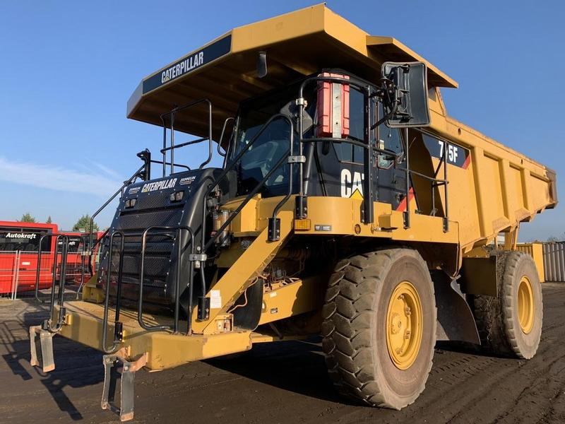 Caterpillar 775F German machine ! ! ! CE & EPA