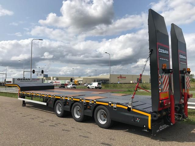 OZSAN OZS-L3 3 Axle Low-Bed Trailer