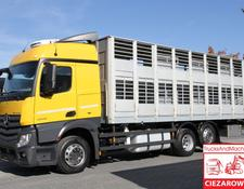 Mercedes-Benz ACTROS 2542 MP4 BDF LAG ALU – FOR ANIMALS TRANSPORT