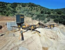 Fabo Pro-100 Mobile Crushing & Screening Plant | For Limestone