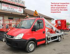 Iveco Daily 17 m Multitel MX170 (technical inspection)